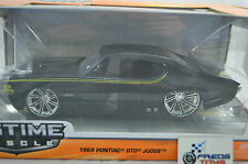 1:24 Jada 1969 Pontiac GTO Judge BLACK BTM Diecast model