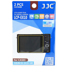 JJC LCP-EX10 LCD Film Camera Screen Display Protector for CASIO EXILIM EX-10 100
