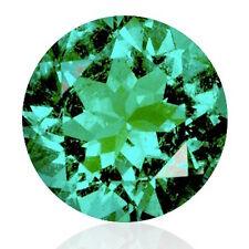 Echter Klarer Grüner Runder Smaragd 4.0mm - Top Qualität