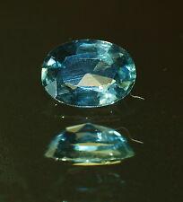 1 Saphir facettiert oval 1,51 ct grünblau 6 x 8 mm vs Australien