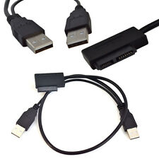 50cm USB 2.0 to 7+6 13Pin SATA Adapter Cable Laptop CD/DVD/Blu-ray Optical Drive