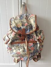 Urban Outfitters Ecote Floral Fabric Rucksack