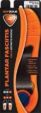 Men's Sof Sole Plantar Fasciitis 3/4 Length Insoles, Fits Men's Sizes 8-12