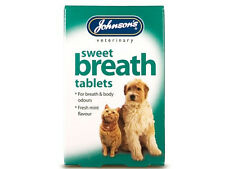 Johnsons Sweet Breath Dog & Cat Fresh Breath Tablets 30 Pack