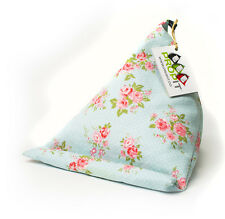 iPad / tablet, kindle, book, lap cushion, stand, holder / blue floral PROPIT®