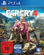 Far Cry 4 (Sony PlayStation 4, 2015) NEU OVP