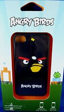 Gear4 iPhone 4 Cover ANGRY BIRDS BLACK BOMBER Brand NEW & SEALED - In Australia
