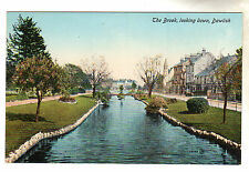 The Brook - Dawlish Photo Postcard c1910