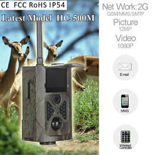 Newest HC-500M Scouting Hunting Camera HD 12MP GPRS MMS GSM Trail Camera