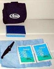 Shift It Helmet Cleaning kit in Arai Pouch  visor helmet shield i L type