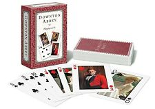 Official Downton Abbey Character Theme Red Backed Set Playing Cards Single Deck