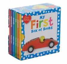My First Pocket Library 6 Board Books Collection Set
