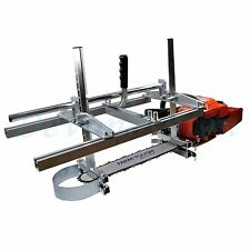 "Holzfforma Portable Chainsaw Mill Planking Milling From 14"" to 24"" Guide Bar"
