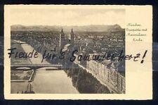 510N  AK  Ansichtskarte München Isarpartie mit  Maximilianskirche