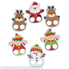 12 x Xmas Large Finger Puppets...Party Favour...Decoration...Loot Bag..Christmas