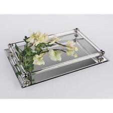 Tischspiegel, Spiegeltablett, Dekospiegel, 25x37cm, rechteckig, Glas, Formano