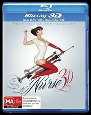 Nurse 3D (Blu-ray, 2014) Brand New Sealed Free Shipping Australia