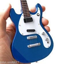 Johnny Ramone The Ramones Blue Mos Signature Miniature Guitar