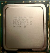 Intel SIX-CORE XEON X5680 3.33GHz 12M 6 CORE SLBV5 CPU HEX Core Processor