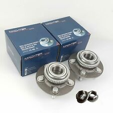 Pair Genuine Machter Ford Falcon Nuts & ILJIN Front Wheel Bearing Hubs AU/BA/BF