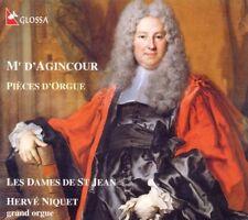 ██ ORGEL ║ FRANCOIS D'AGINCOUR (*1684) ║ Orgelwerke ║ Hervé Niquet