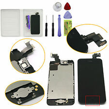 Black For iPhone 5C LCD Touch Screen Digitizer Replacement + Home Button Camera