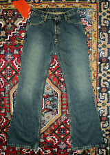 """Levi 985 red tab """"Low Tight Flare"""" jeans 25x33 6-7 long NWT!"""