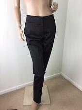 WITCHERY Black Soft Stretch Straight Leg Dress PANTS Size 12