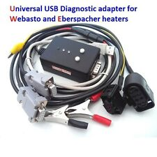 USB diagnostic adapter for Webasto Thermo Top V & VEVO and Eberspacher edith.