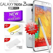 New Sealed Unlocked SAMSUNG Note 3 Neo White N7505 16GB 4G Android Smartphone