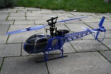RC 2,4 Ghz. Helikopter LAMA AEROSPATIALE 4 Kanal Single Blade Hubschrauber