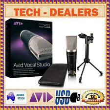 AVID VOCAL STUDIO M-STUDIO PRODUCER USB MICROPHONE+PRO TOOLS SE SOFTWARE+PC/MAC