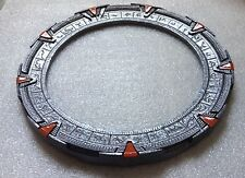 "Silver Stargate SG1 Gate/Ring/Model replica - 7 3/4"" (19.7cm)"