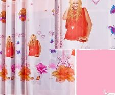 """White Net Voile Curtains Hannah Montana - SOLD BY THE METRE 59"""" - 150cm drop"""