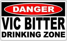 VB Victoria Bitter Drinking Zone- Beer sign for bar or man cave