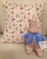 Beatrix Potter Envelope Cushion Cover 16x16 Inch, Peter Rabbit, Baby Nursery