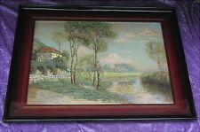 Rares altes Gemälde Helene Funke von 1904 Chemnitz München Wien