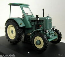 Schuco 1/43 Scale - 02755 MAN 4 S 2 Closed green diecast model Tractor