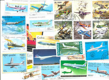 Aviation-collection 100 all different -mainly large-
