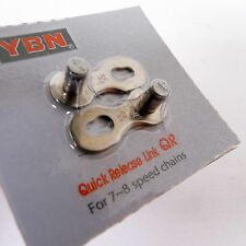 mr-ride YBN Bike Chain Quick Release Master Link 7,8 Speed Sram Silver