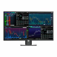 "Dell Professional P4317Q 43"" Multi Client Monitor Ultra 4K 3840x2160 DisplayPort"