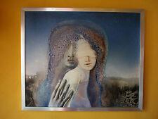 Original-Gemälde von Klaus-Heinrich Keller, 60cm x 50cm