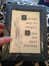 WOODEN QUOTE fashion may be bought style etc Gift  Picture Frame 5.5 -by- 7 Inch