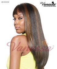 Vanessa Human Hair Blend show wig (colour 1, 1B, 2)