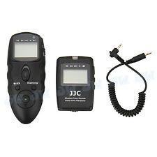 JJC Wireless Timer Remote w/ Cable For SIGMA SD-14 SD-15 Digital Camera