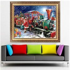 DIY 5D Diamond Painting Christmas Embroidery Cross Stitch Craft Home Decor Gifts