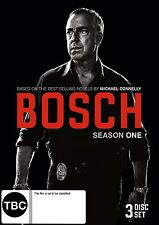 BOSCH  : THE COMPLETE SEASON 1  - DVD - REGION 4 - Sealed