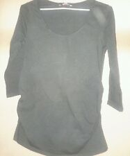 George maternity top size 10 black