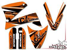 KTM LC4 SXC SM SMC DUKE 620 625 640 660 | 98-07 FACTORY DEKOR DECALS STICKER