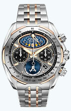 Citizen Men's AV3006-50H The Signature Collection Eco-Drive Moon Phase Flyb NEW